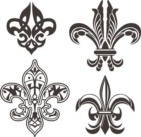 armory: classic fleur de lis symbol