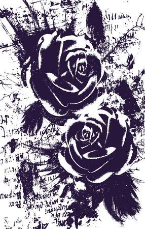 rose background design