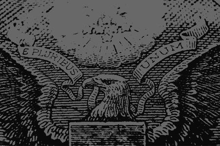 stock art: eagle money illustration