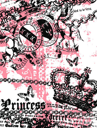 royal heraldic banner Vector