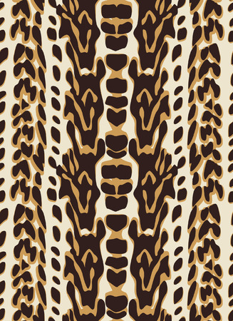seamless animal skin pattern Stock Vector - 6950765