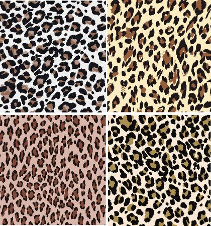 seamless fashion leopard fabric pattern