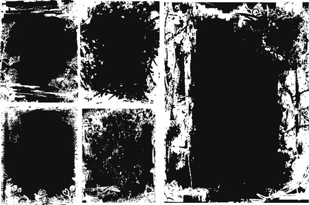 distressed grungy texture Vector