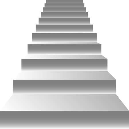 Stairs  Vector Illustration