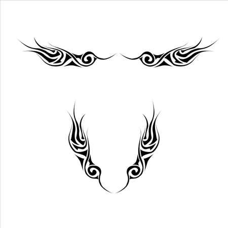 Tattoo kit  Tattoo 6 Vector