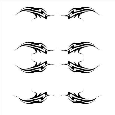 Tattoo kit  Tattoo 1 Vector
