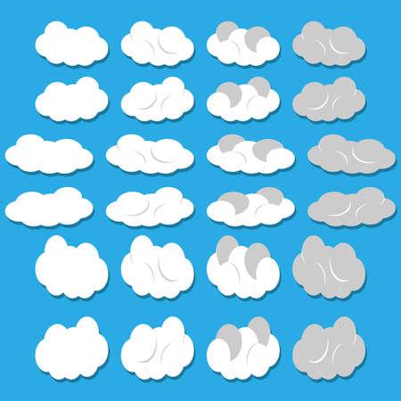 Vector nuvole
