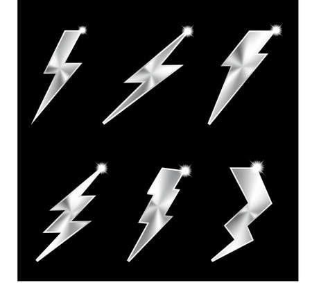 Metal lightning  Vector