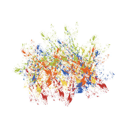 Spot paint  abstraction vector Illustration