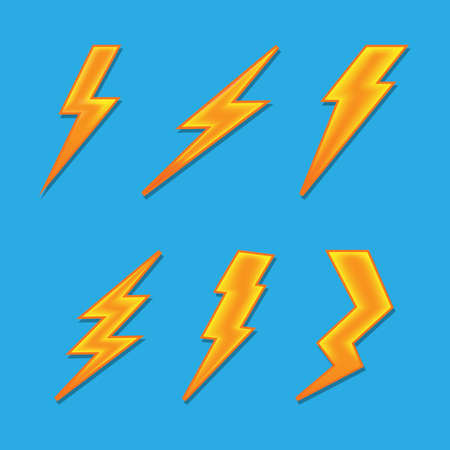 volume lightning vector Vector