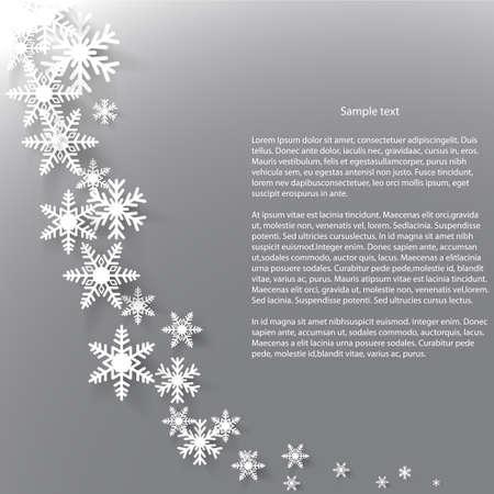Astratta inverno sfondo vettoriale