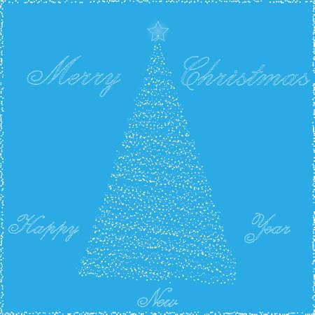 Cartolina di Natale Vector