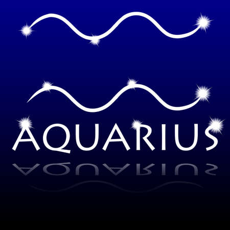overbalance: Signs of the zodiac  Aquarius