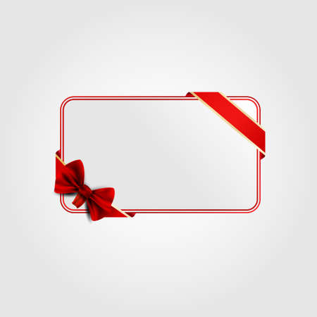 Greeting card for Valentine  Red