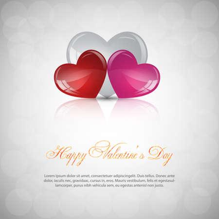 Sfondo grigio San Valentino