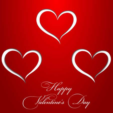 Carta di San Valentino di carta