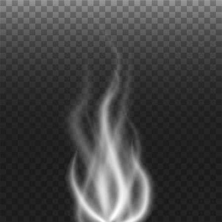 Smoke with transparent background Illustration