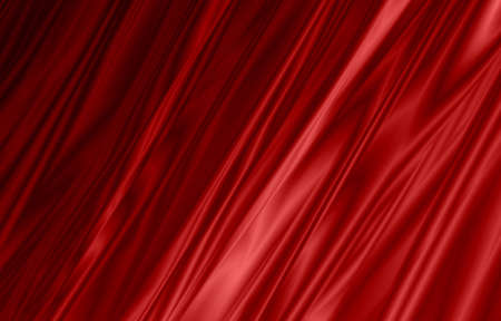 red curtain wallpaper Stock Photo - 14534109