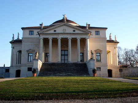 Villa Capra La Rotonda is a Renaissance villa in Vicenza, northern Italy, designed by Andrea Palladio