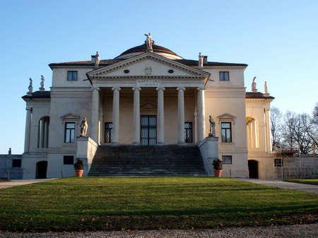 Villa Capra La Rotonda is a Renaissance villa in Vicenza, northern Italy, designed by Andrea Palladio