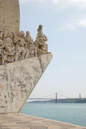 descubridor: Monumento a los Descubrimientos en Lisboa, Portugal