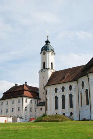 peregrinación: La Iglesia de peregrinaci�n de Wies Alemania