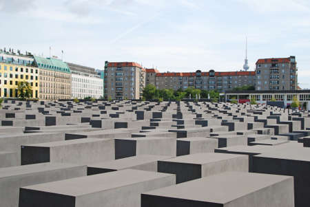 holocaust: The Holocaust monument in Berlin, Germany Editorial