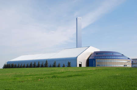 incinerator: Incineration plant in Lombardy - Italy