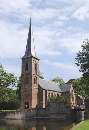 Church inside De Haar castle  Netherlands  Stock Photo - 17377559