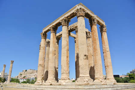 olympian: The Temple of Olympian Zeus, Athens, Greece