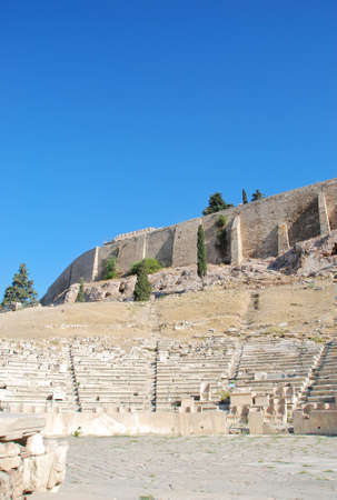 The Theatre of Dionysus Eleuthereus, Athens - Greece photo