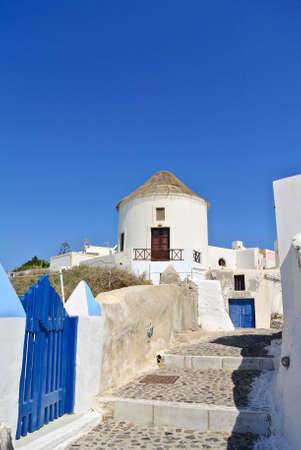 Classical greek architecture Santorini Island - Greece
