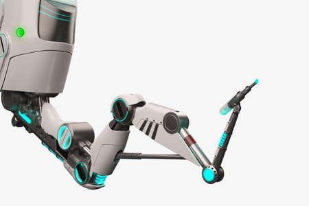 robot: Ciencia ficci�n 3d brazo rob�tico Foto de archivo