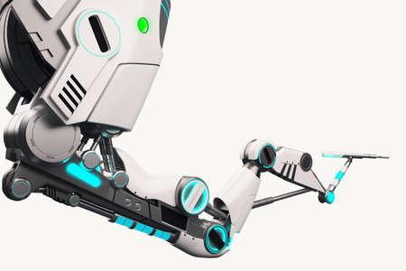 Sci fi 3d robotic arm