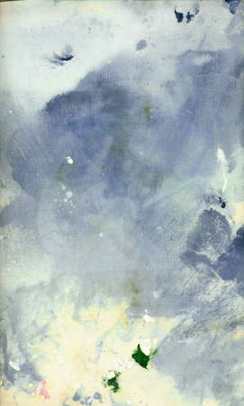 handmade abstract: painted grunge background Stock Photo