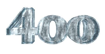 hundred: frozen four  hundred - 3d rendering