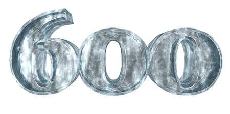 cipher: frozen six hundred - 3d rendering