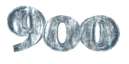 frozen nine hundred - 3d rendering