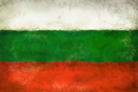 abstract background illustration - flag bulgaria Stock Photo
