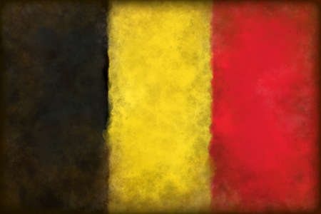 abstract background illustration - flag belgium