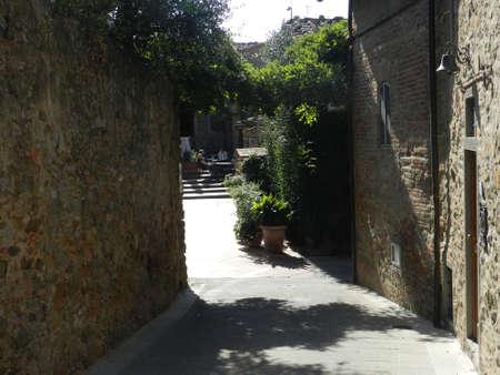 イタリアのトスカーナの村