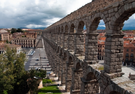segovia: The longest Roman aqueduct, preserved in Western Europe