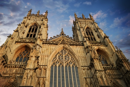 york minster: Cathedral Minster in York UK