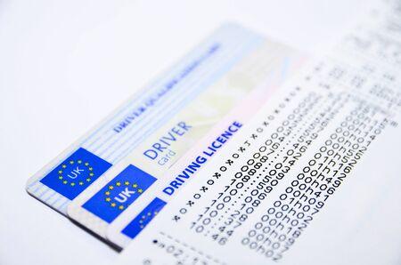 printed: Digital tachograph printed day shift