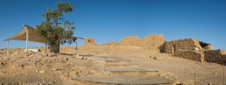 Masada fortress in Israel, dead sea