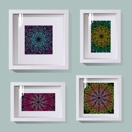 frames in different sizes for photos and pictures
