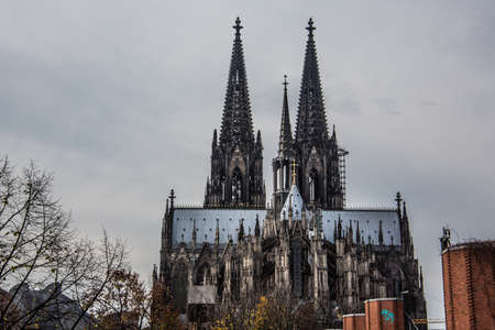 Cologne Cathedral as a monument Stock Photo