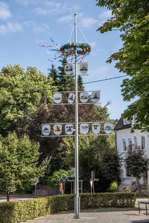 Kirchhundem with tree of partner cities