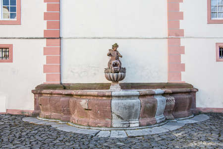 Fountain at Weilburg Castle Stock Photo