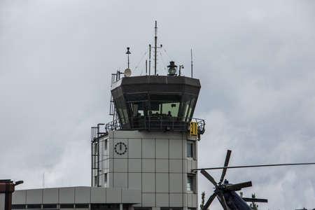 Siegerland airport when it rains